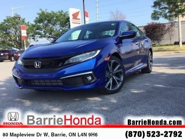 2019 Honda Civic Touring (Stk: 191600) in Barrie - Image 1 of 21