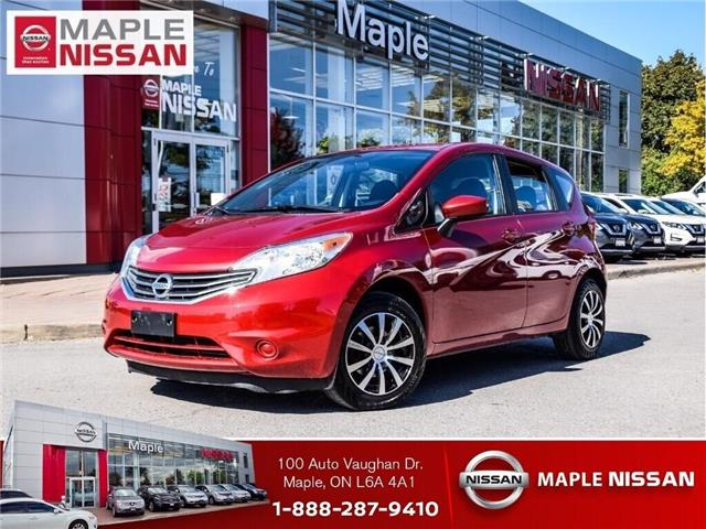 2015 Nissan Versa Note SV-Alloys, A/C,Keyless,Back Up Camera,Low Mileage! (Stk: M19I003A) in Maple - Image 1 of 22
