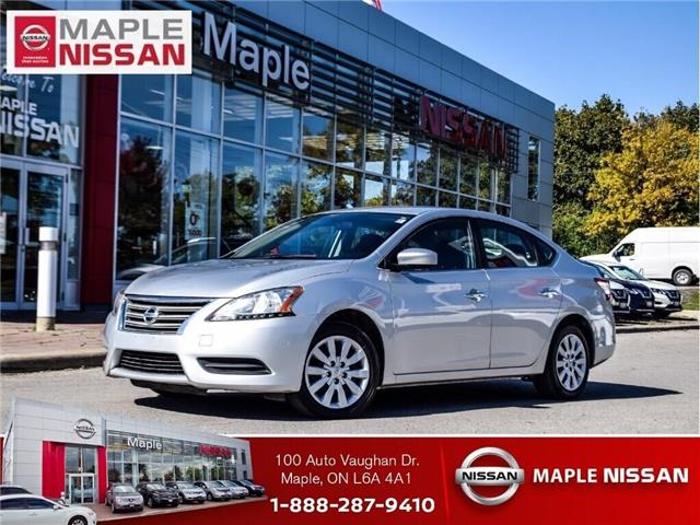 2013 Nissan Sentra A/C,AUTO,LOW MILEAGE,CLEAN CARFAX! (Stk: UM1664) in Maple - Image 1 of 19