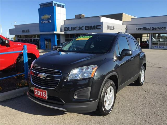 2015 Chevrolet Trax 1LT (Stk: K512A) in Grimsby - Image 1 of 14