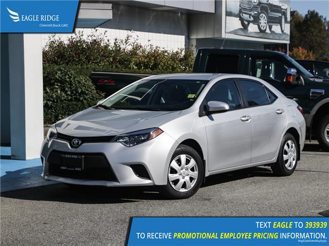 2015 Toyota Corolla LE (Stk: 159084) in Coquitlam - Image 1 of 13