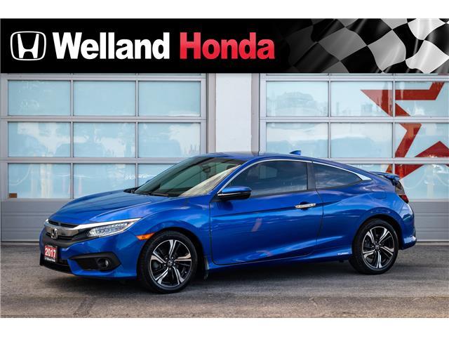 2017 Honda Civic Touring (Stk: U6717) in Welland - Image 1 of 20