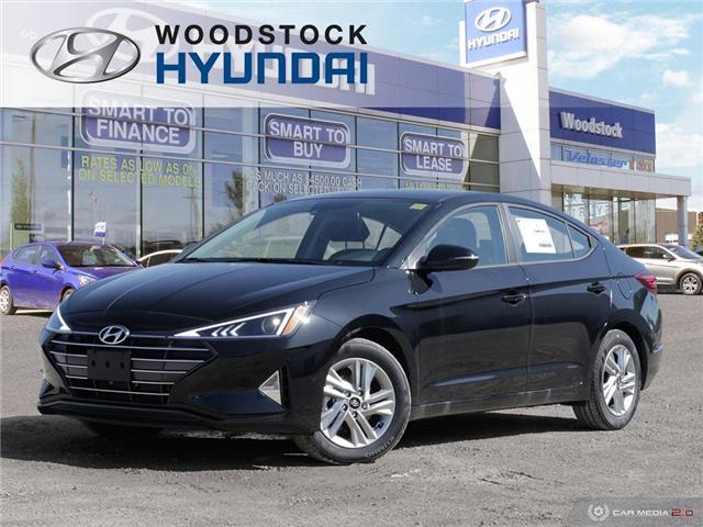 2020 Hyundai Elantra Preferred w/Sun & Safety Package (Stk: EA20031) in Woodstock - Image 1 of 43