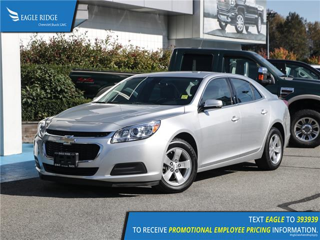 2016 Chevrolet Malibu Limited LT (Stk: 167724) in Coquitlam - Image 1 of 14