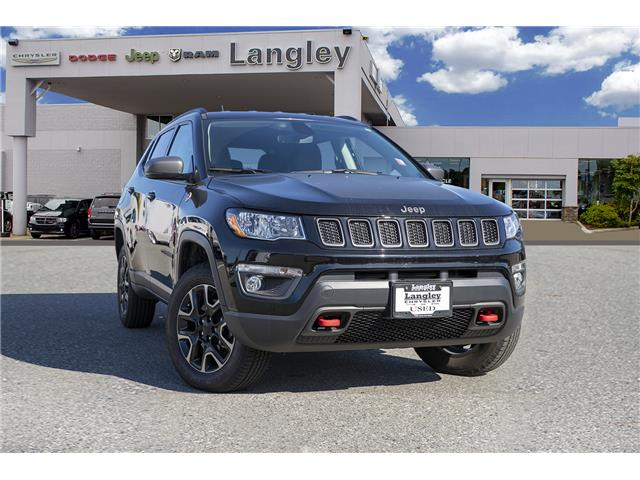 2019 Jeep Compass Trailhawk (Stk: K853996A) in Surrey - Image 1 of 23