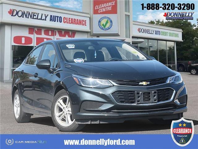 2018 Chevrolet Cruze LT Auto (Stk: CLDUR6223) in Ottawa - Image 1 of 28