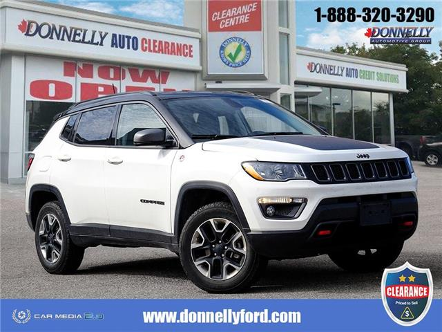 2018 Jeep Compass Trailhawk (Stk: CLDUR6286) in Ottawa - Image 1 of 28