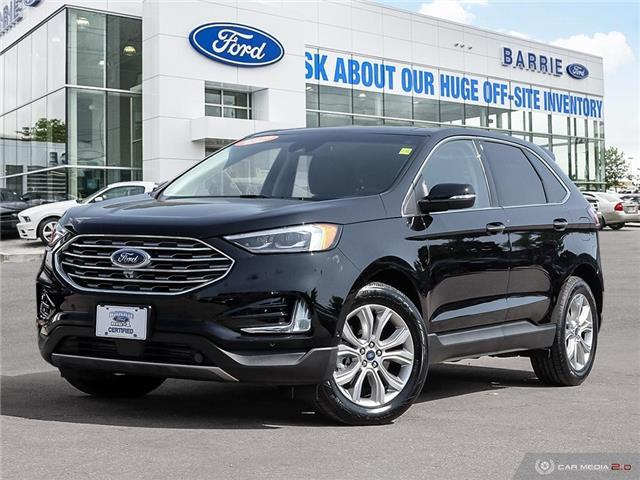 2019 Ford Edge Titanium (Stk: 6385) in Barrie - Image 1 of 27