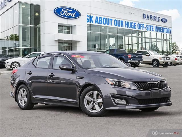 2015 Kia Optima LX (Stk: 6378A) in Barrie - Image 1 of 27