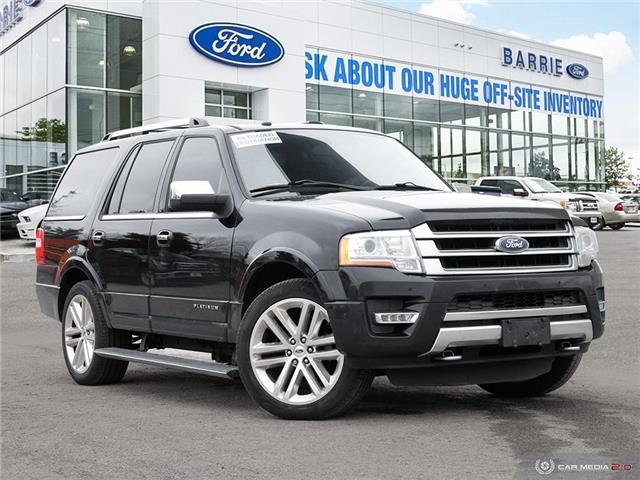 2016 Ford Expedition Platinum (Stk: T1597A) in Barrie - Image 1 of 8