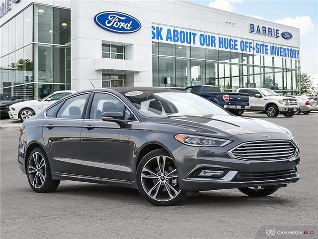 2018 Ford Fusion Platinum (Stk: 6338) in Barrie - Image 1 of 27