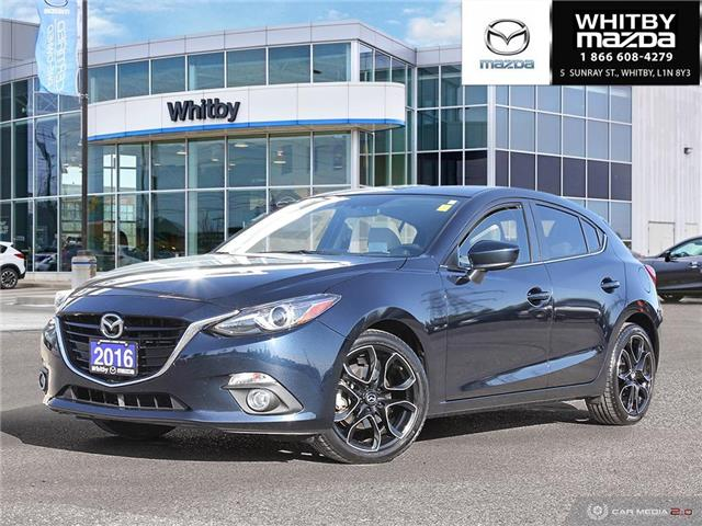 2016 Mazda Mazda3 Sport GT (Stk: P17505) in Whitby - Image 1 of 27