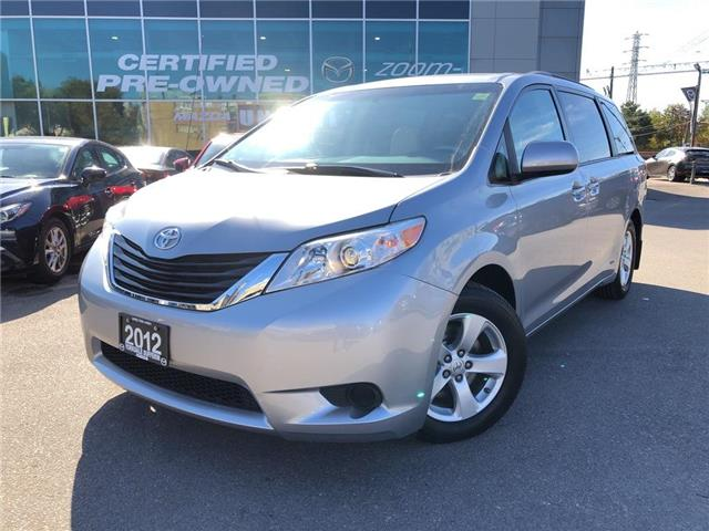 2012 Toyota Sienna LE 8 Pass V6 6A POWER SLIDING DOORS, ALLOYS, NO AC (Stk: 19819A) in Toronto - Image 1 of 25