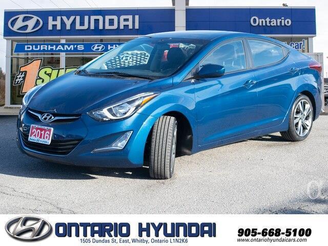 2016 Hyundai Elantra GLS (Stk: 08460K) in Whitby - Image 1 of 19