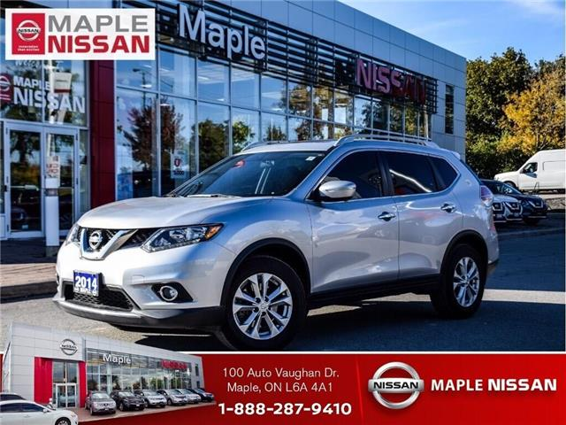 2014 Nissan Rogue SV AWD-7 Seater,Navi,Alloys,Roof Low Mileage! (Stk: UM1627) in Maple - Image 1 of 28