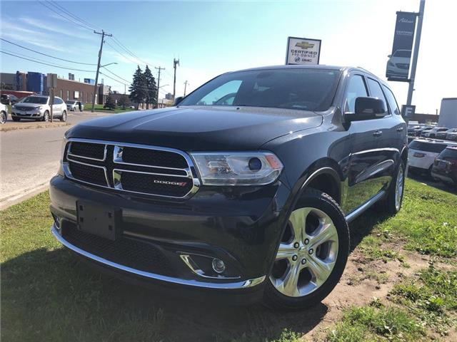 2015 Dodge Durango Limited (Stk: U714926) in Mississauga - Image 1 of 20