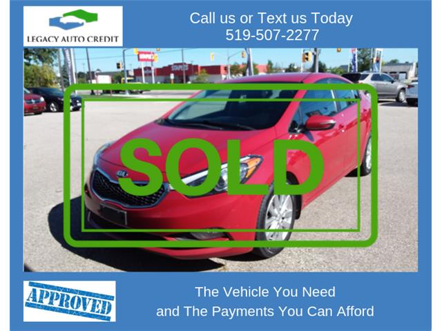 2015 Kia Forte 1.8L LX+ (Stk: L9157) in Waterloo - Image 1 of 16