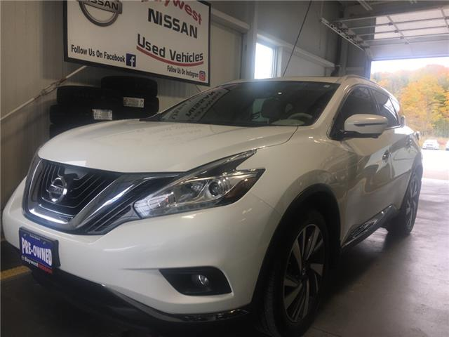 2017 Nissan Murano Platinum (Stk: P0610) in Owen Sound - Image 1 of 12