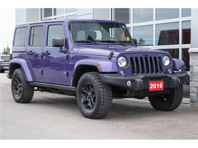 2016 Jeep Wrangler Unlimited Sahara (Stk: 10583U) in Innisfil - Image 1 of 21