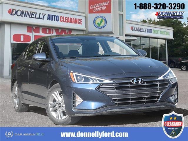 2019 Hyundai Elantra Preferred (Stk: CLDUR6249) in Ottawa - Image 1 of 28