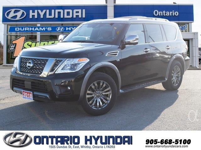 2018 Nissan Armada Platinum (Stk: 34794K) in Whitby - Image 1 of 24