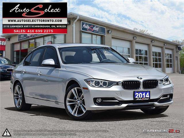 2014 BMW 320i xDrive (Stk: 14S74X1) in Scarborough - Image 1 of 27