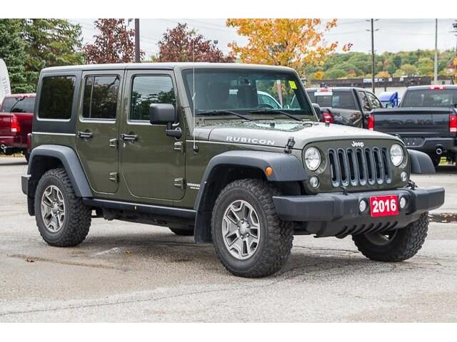 2016 Jeep Wrangler Unlimited Rubicon (Stk: 27037U) in Barrie - Image 1 of 26