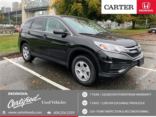 2015 Honda CR-V LX (Stk: 2K20701) in Vancouver - Image 1 of 22