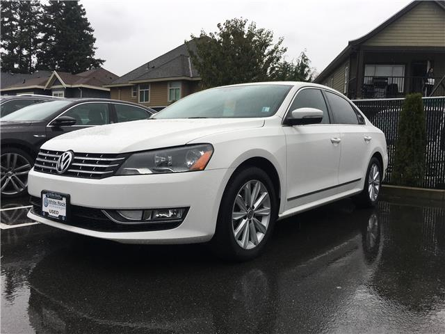 2014 Volkswagen Passat 2.0 TDI Highline (Stk: VW0997) in Vancouver - Image 1 of 1