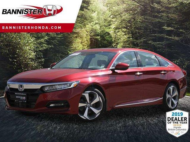 2019 Honda Accord Touring 1.5T (Stk: 19-141) in Vernon - Image 1 of 6