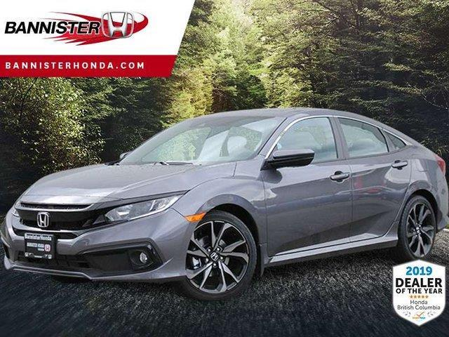 2019 Honda Civic Sport (Stk: 19-290) in Vernon - Image 1 of 1