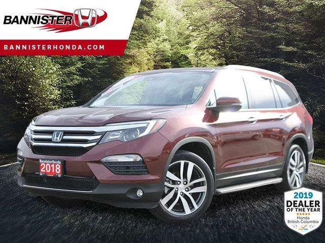 2018 Honda Pilot Touring (Stk: P19-097) in Vernon - Image 1 of 17