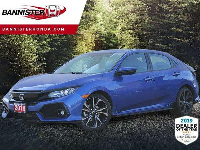 2018 Honda Civic Sport (Stk: 19-063A) in Vernon - Image 1 of 18