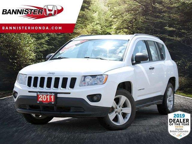 2011 Jeep Compass Sport/North (Stk: P19-041A) in Vernon - Image 1 of 14