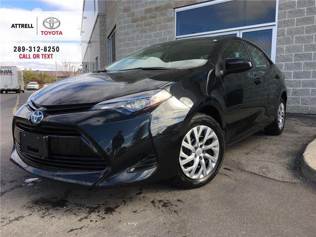 2019 Toyota Corolla LE BLUETOOTH, HEATED SEATS, TOYOTA SAFETY SENSE, 1 (Stk: 45731A) in Brampton - Image 1 of 26