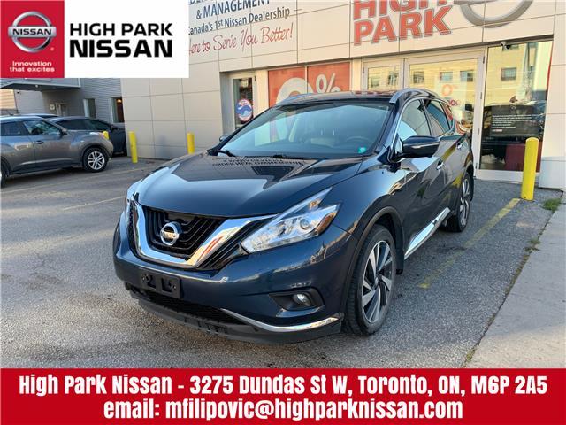 2015 Nissan Murano Platinum (Stk: U1679) in Toronto - Image 1 of 27