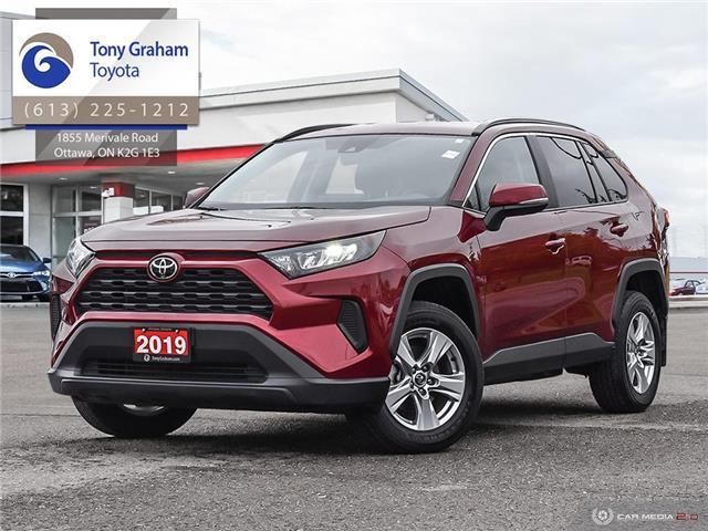 2019 Toyota RAV4 LE (Stk: U9167) in Ottawa - Image 1 of 28