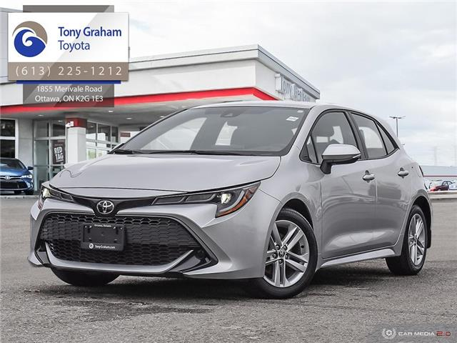 2019 Toyota Corolla Hatchback Base (Stk: U9187) in Ottawa - Image 1 of 29