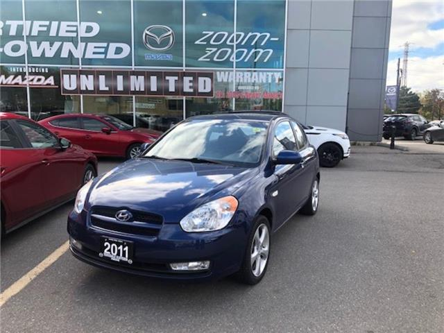 2011 Hyundai Accent 3Dr GL 5sp SUNROOF, ALLOYS, POWER GROUP, NO ACCIDE (Stk: 19266A) in Toronto - Image 1 of 1