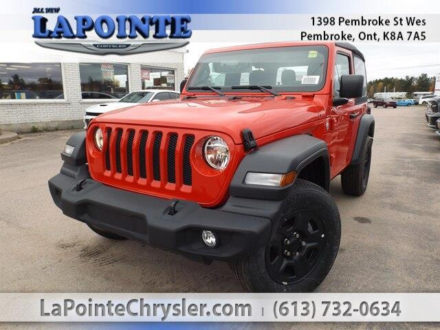 2019 Jeep Wrangler Sport (Stk: 19228) in Pembroke - Image 1 of 27
