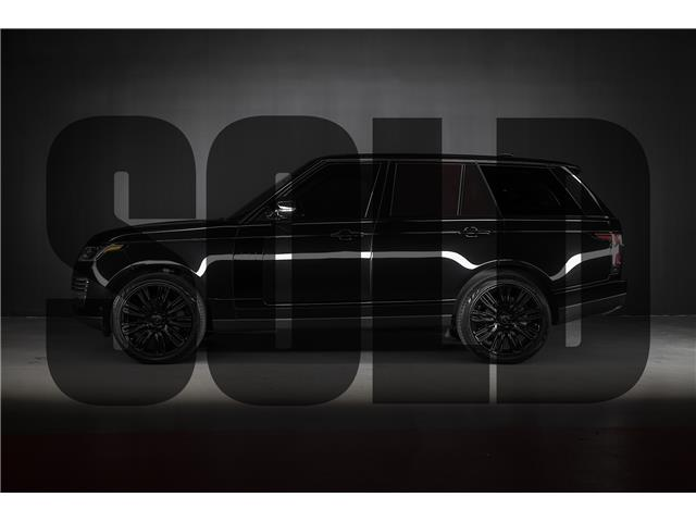 2019 Land Rover Range Rover 3.0L V6 Turbocharged Diesel HSE Td6 (Stk: MU2189) in Woodbridge - Image 1 of 20