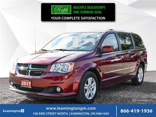 2017 Dodge Grand Caravan Crew (Stk: 19-494A) in Leamington - Image 1 of 28