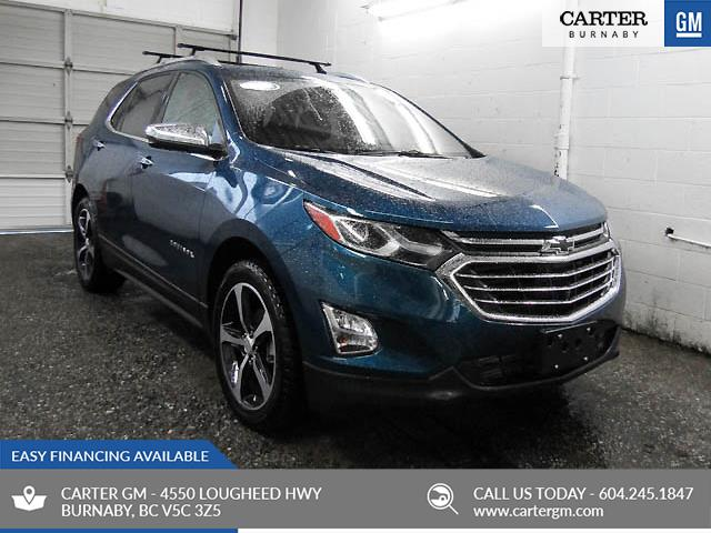 2019 Chevrolet Equinox Premier (Stk: Q9-53070) in Burnaby - Image 1 of 13