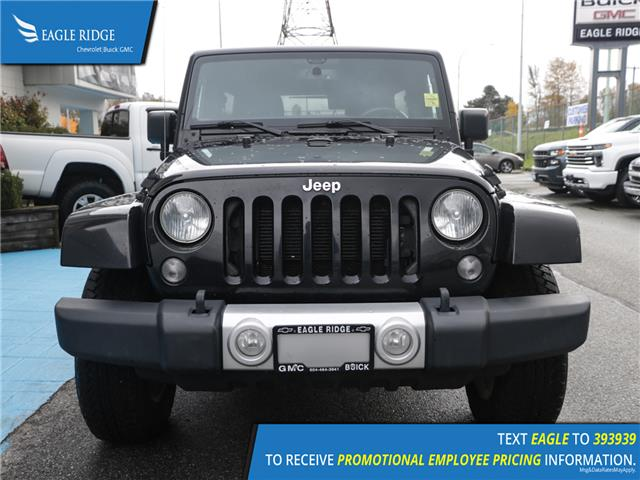 2015 Jeep Wrangler Unlimited Sahara (Stk: 159291) in Coquitlam - Image 2 of 13