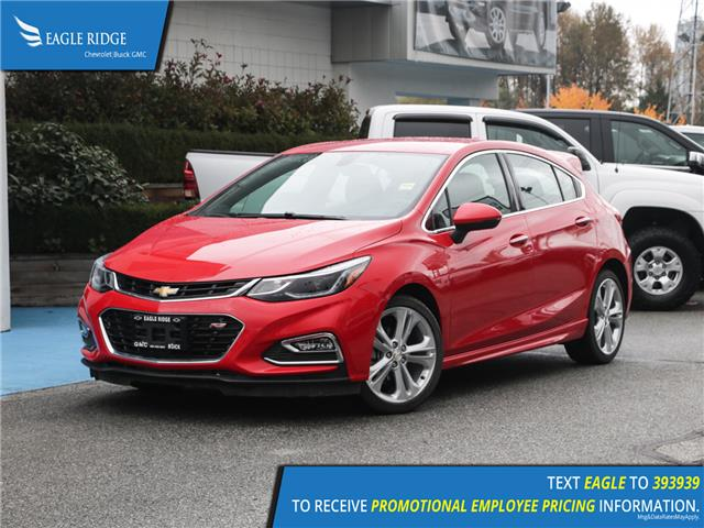 2018 Chevrolet Cruze Premier Auto (Stk: 189671) in Coquitlam - Image 1 of 16