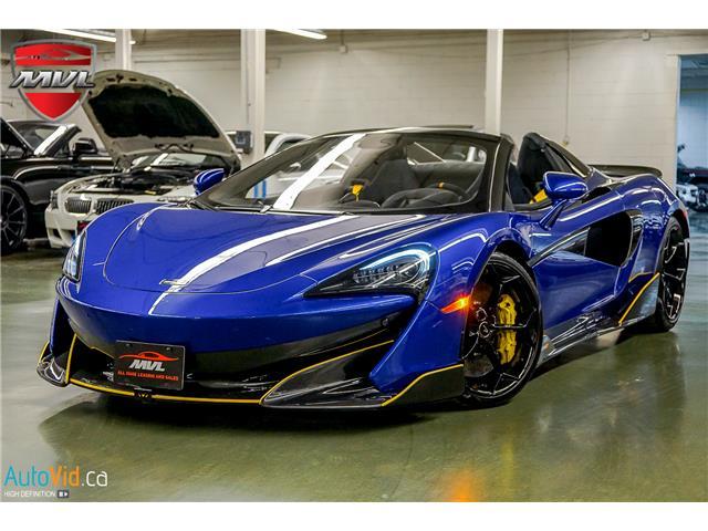 2020 McLaren 600LT SPIDER SBM13SAAXLW007903  in Oakville