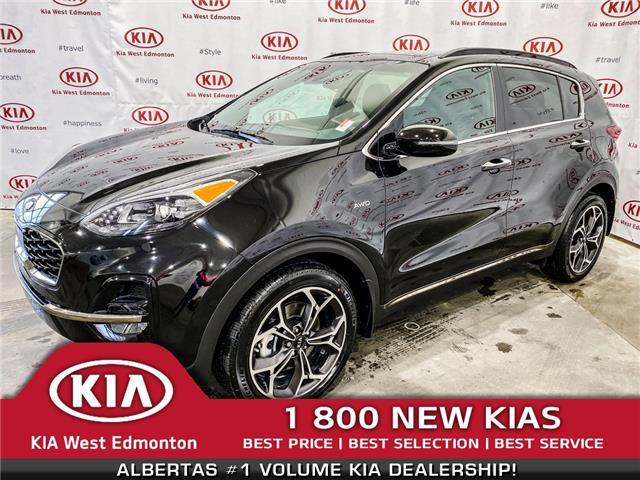 2020 Kia Sportage SX (Stk: 21841) in Edmonton - Image 1 of 41