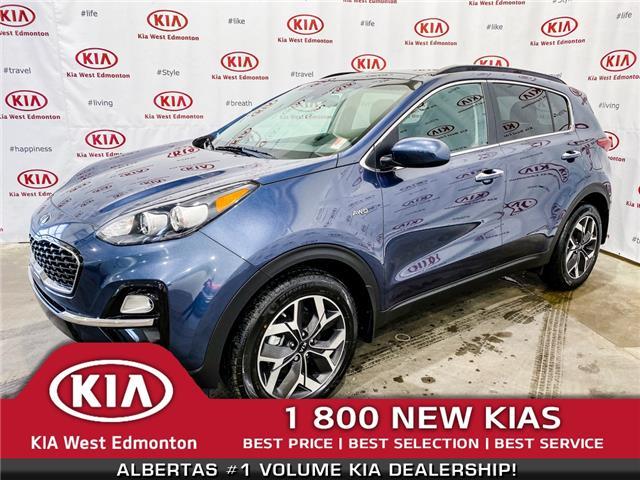 2020 Kia Sportage EX (Stk: 22006) in Edmonton - Image 1 of 37
