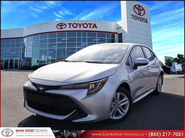 2019 Toyota Corolla Hatchback Base (Stk: 27557) in Ottawa - Image 1 of 24