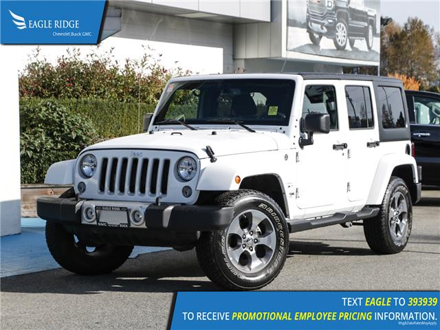 2018 Jeep Wrangler JK Unlimited Sahara (Stk: 189289) in Coquitlam - Image 1 of 13
